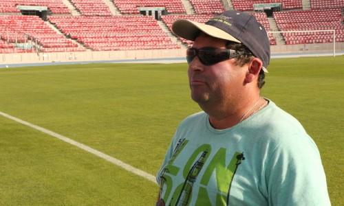 José Jara, canchero del Estadio Nacional